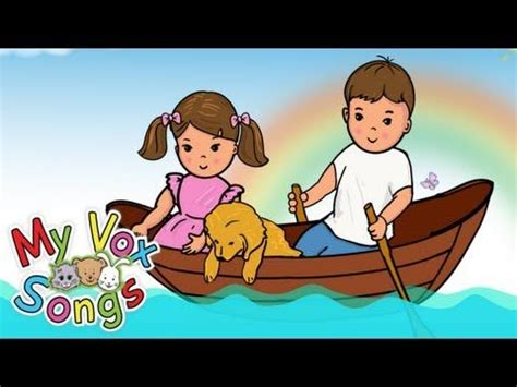 row row row your boat lyrics full version 87 best nursery rhymes stories images on pinterest