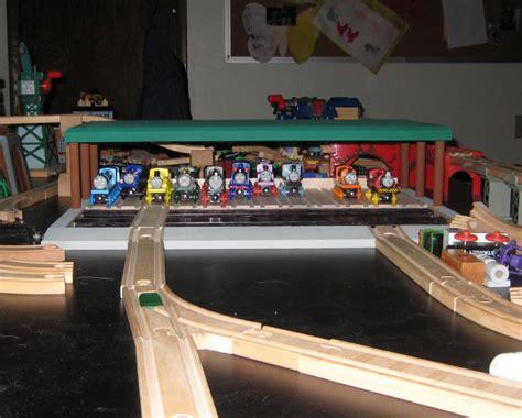 Engene Garage by Wooden Engine Garage Sodor Steamworks 187 Ben S Workshop