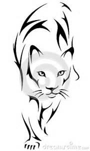 tiger tattoo logo royalty free stock image image 34904516