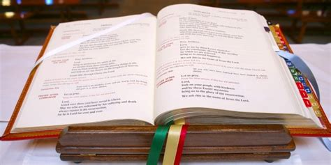 excerpts from the missal books what can you do with an sacramentary
