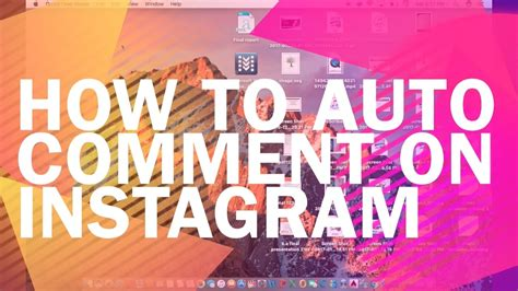 Instagram Auto Comment Free by How To Auto Comment On Instagram Auto Comment On