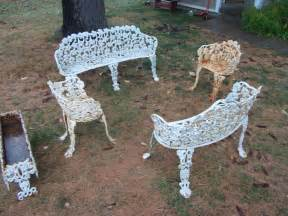 Antique Patio Chairs Cast Iron Patio Furniture For Sale Antiques Classifieds