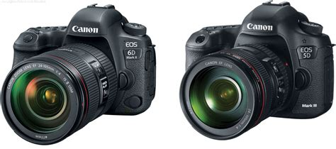canon 5d iii should i get the canon eos 6d ii or the 5d iii