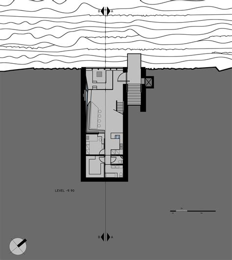 Room Design Floor Plan opa presents conceptual cliffside casa brutale on the