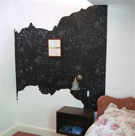 black wall paint staying alive homage to the anthology