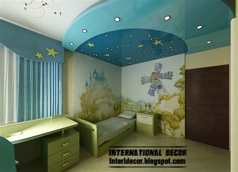 simple music bedroom decor for children with l best 10 creative kids room false ceilings design ideas