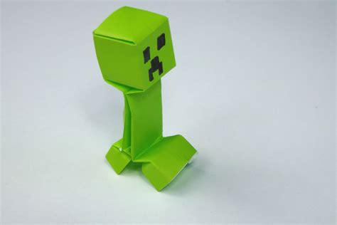 How To Make A Origami Creeper - frontpage tavin s origami
