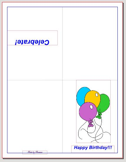 folding birthday cards templates quarter fold birthday card template 28 images 4 best