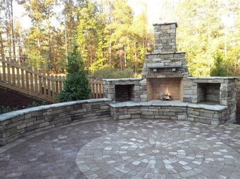 outdoor fireplace raleigh nc image mag
