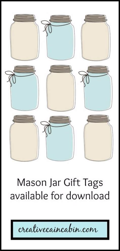 Jar Tags Template 31 best free printables and templates for jars