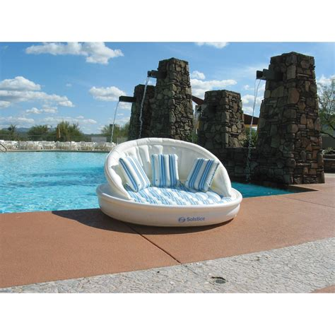 aqua sofa pool float aqua sofa pool float luxury coolerz
