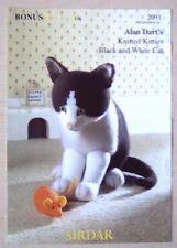 alan dart black and white cat knitting pattern alan dart on pinterest darts knitting magazine and