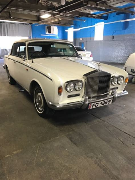 rolls royce white convertible 1969 white convertible rolls royce