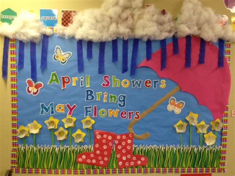 kindergarten themes for april and may spring time preschool bulletin board preschool perfect