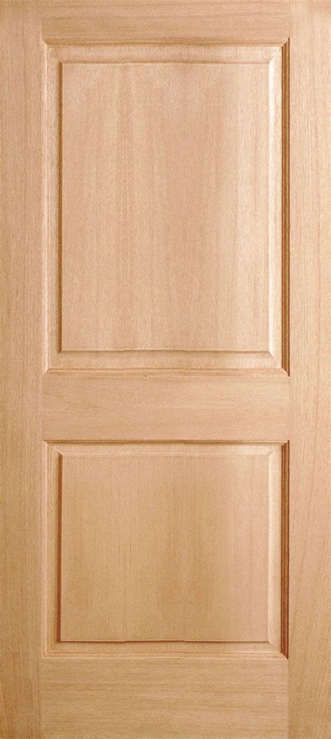 Two Panel Solid Wood Interior Doors by