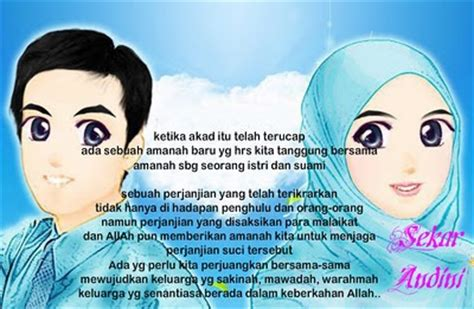 kata ucapan selamat pernikahan nuansa islam naranua