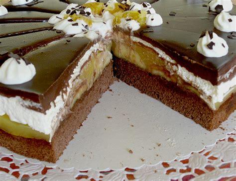 rezepte für kuchen und torten bananen schoko torte mickyjenny chefkoch de