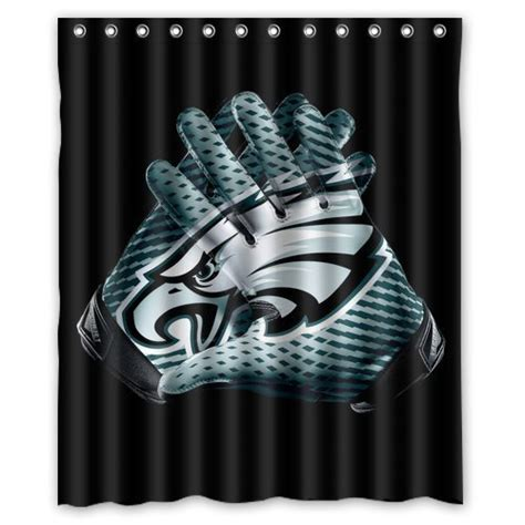 eagles curtains eagles shower curtains philadelphia eagles shower curtain
