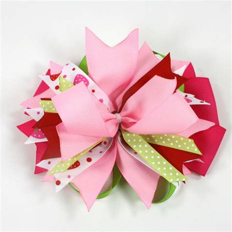 162 best images about ribbons and bows on boutique bow tutorial hair bows and