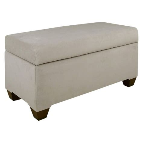target bench storage custom upholstered storage bench skyline furni target