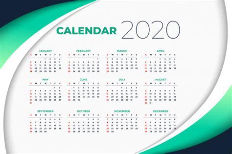 year calendar template  business style vector