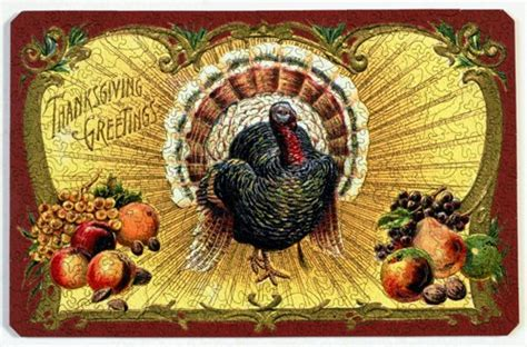 free printable thanksgiving jigsaw puzzles thanksgiving postcard wooden jigsaw puzzle liberty