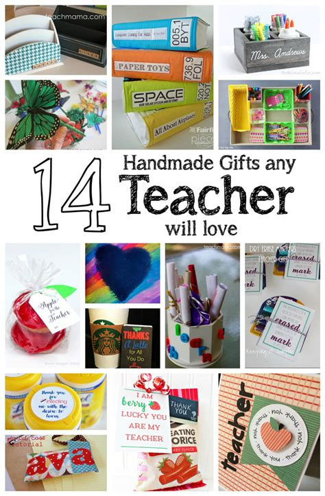 7 Great Gifts For Teachers by Pieces By Polly 14 Handmade Gifts Any Will