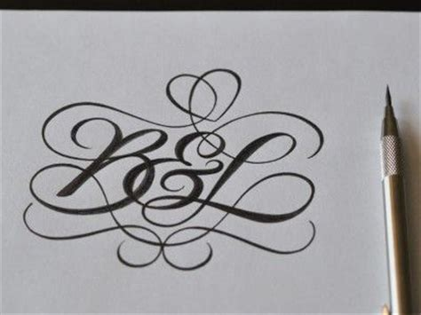 Alphabet Tattoo Monogram | hand lettering b monogram tattoo tattoos pinterest