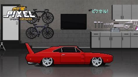 pixel car racer pixel car racer 1969 dodge charger