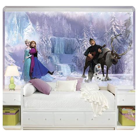 disney frozen wall mural disney frozen wall mural roommates frozen wall murals at entertainment earth