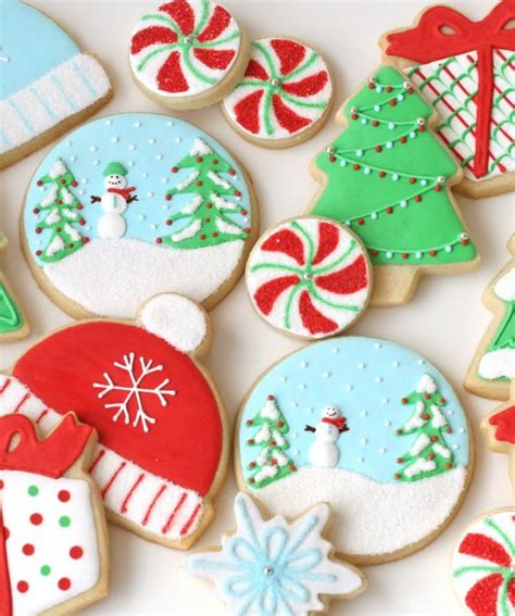 How To Decorate Sugar Cookies by 24 Ways To Decorate A Sugar Cookie Christmasy Sugar Cookies
