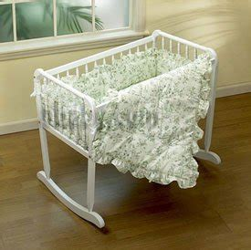 Cradle Mattress 15x33 by Shopping Green Toile Cradle Bedding Size 15x33 Shopping