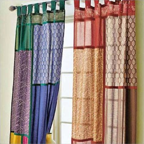 Patchwork Curtain Fabric - modern interior design trends inspired by patchwork fabric