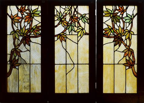 Stained Glass Cupboard Doors by Fid13024a C Antique American Stained Glass Windows 541