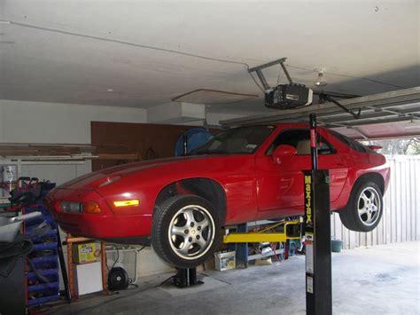 Low Ceiling Garage Lift by Maxjax Garage Lift 1 Year Follow Up Report Rennlist