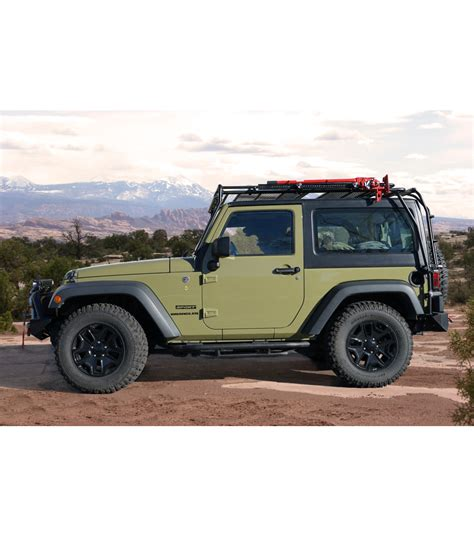 Jeep Jk 2door 183 Stealth Rack 183 Multi Light Setup Gobi Racks