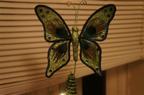 butterfly christmas tree topper dreamxmas pinterest