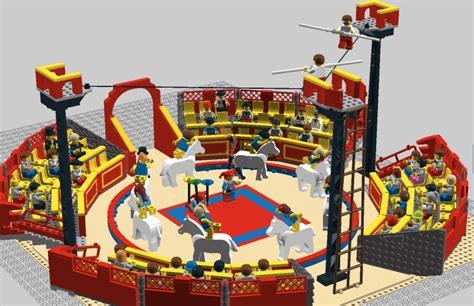Lego Circus Show 3 winners of the eurobricks ldd design contest 2010 lego digital designer and other digital