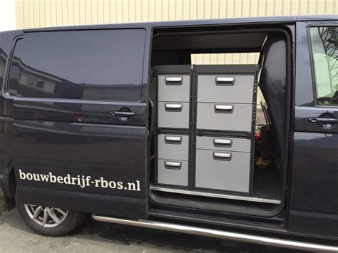 lade t5 businrichting lange lades vw t6 werk verkeer nl werk verkeer