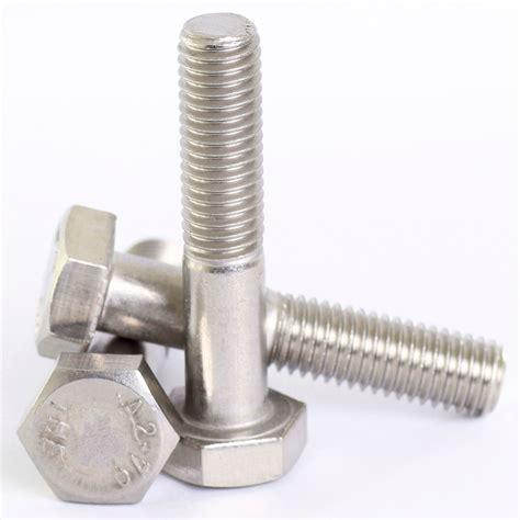 Mur Stainless Steel The M6 Diameter Dalam 6mm 1 Pcs m5 m6 m8 a2 stainless steel hex part threaded bolts hexagon screws din 931 ebay