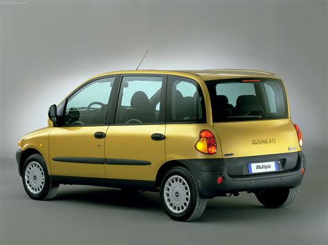 Fiat Multipla history, photos on Better Parts LTD