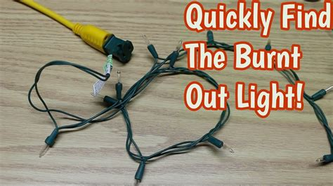 how to find bad christmas bulb how to easily find bad light bulbs