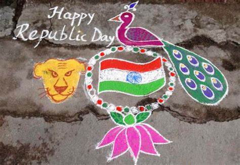 rangoli themes for republic day happy republic day 2016 speech images sms essays