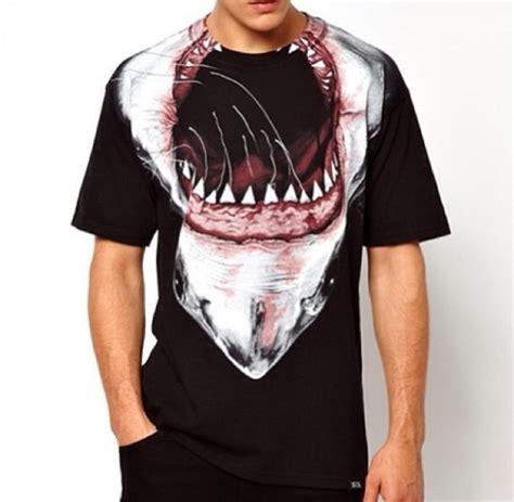 T Shirt Swag t shirt shark swag tyga mens t shirt animal