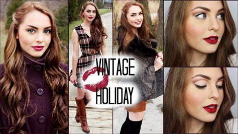 imagenes de outfits vintage vintage hair makeup outfits for the holidays jackie