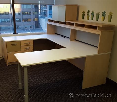 u c suite desk with pigeon overhead and