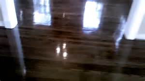 Glossy Wooden Floor by Hardwood Oak High Gloss