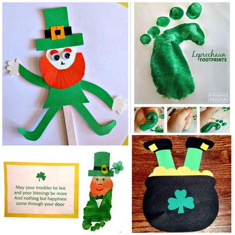 leprechaun pattern for kindergarten leprechaun crafts for kids to make on st patty s day