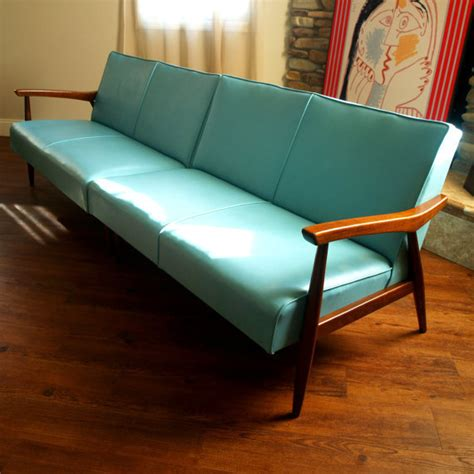 50s style couch 50s vintage danish modern sectional sofa from aces finds