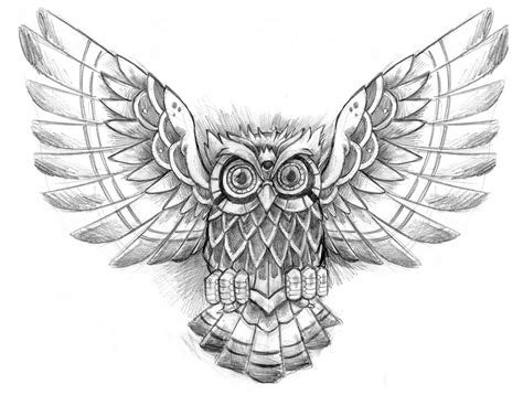 tattoo drawings designs owl tattoos designs ideas and meaning tattoos for you